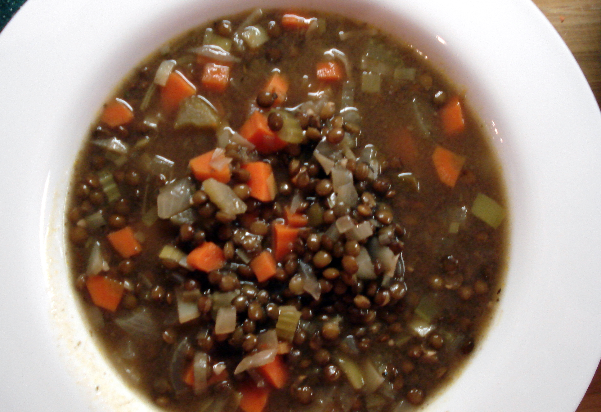 french lentil vegetable soup