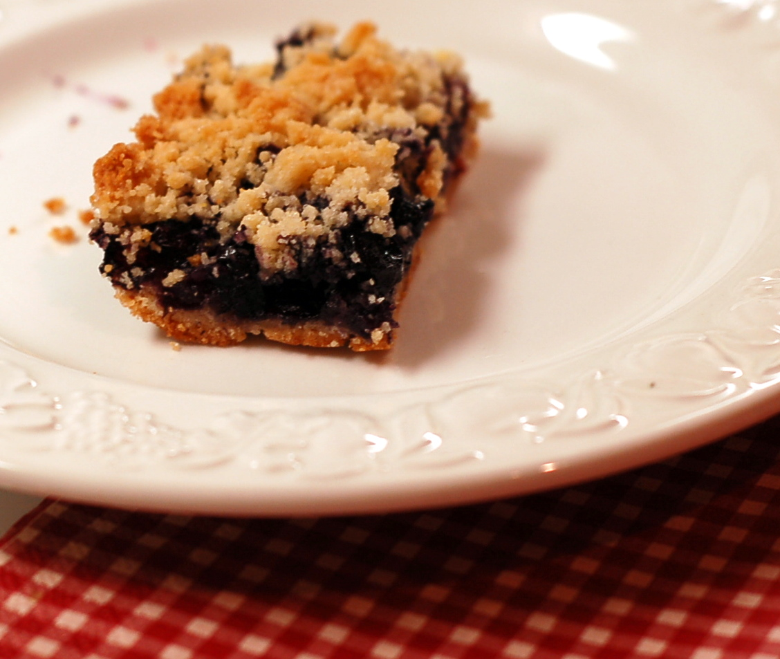 Blueberry Crumb Bars from ascrumptiouslife.com