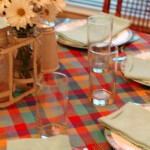 July table setting