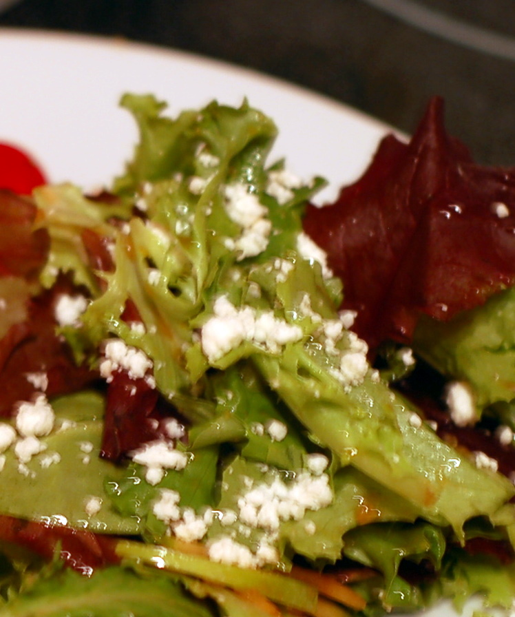 salad with michele's dessing