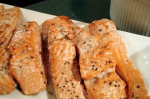 Roasted Salmon from ascrumptouslife.com