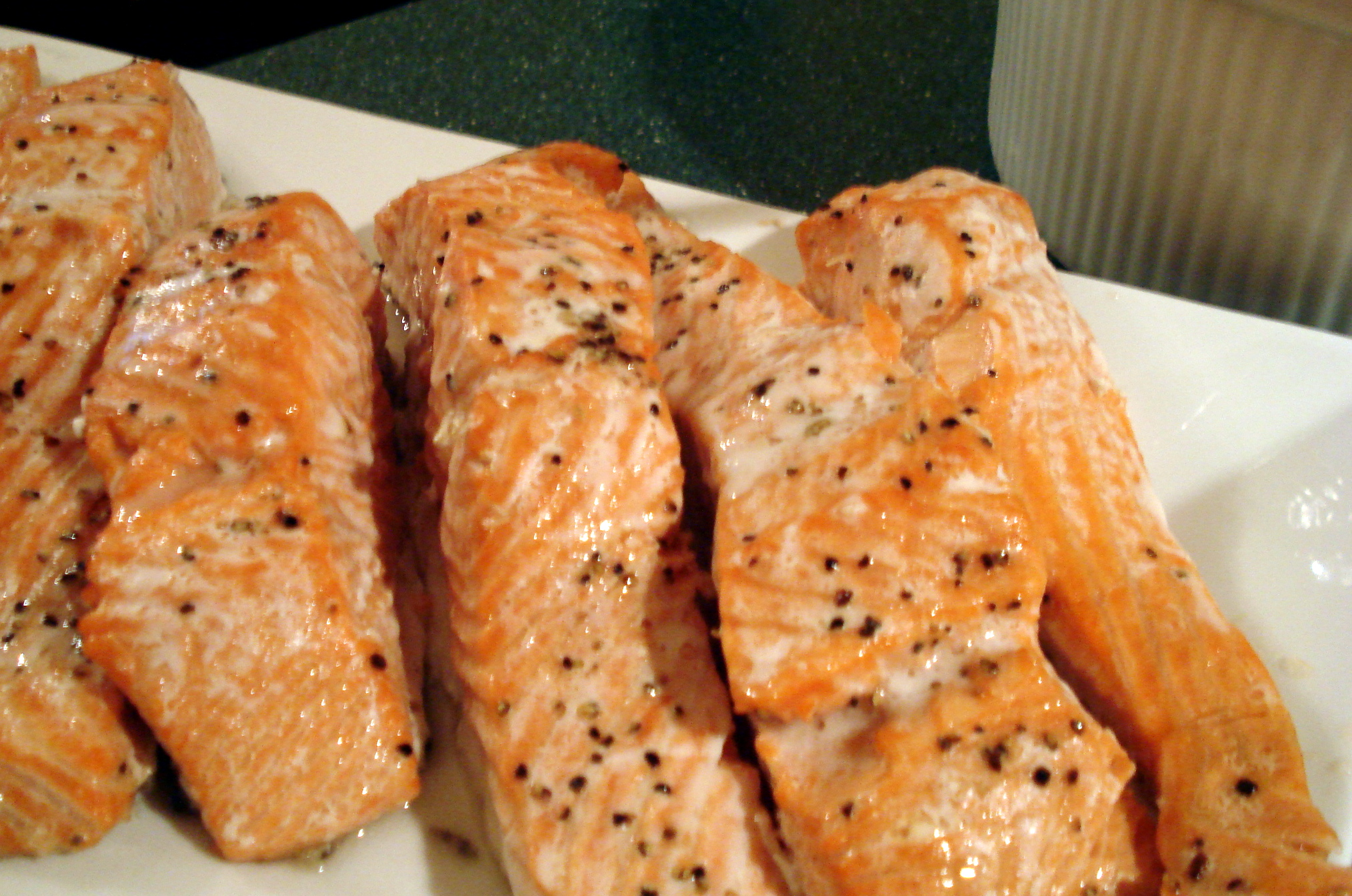 Roasted Salmon from ascrumptouslife.com