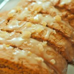 Gingerread biscotti with lemon glaze from ascrumptiouslife.com