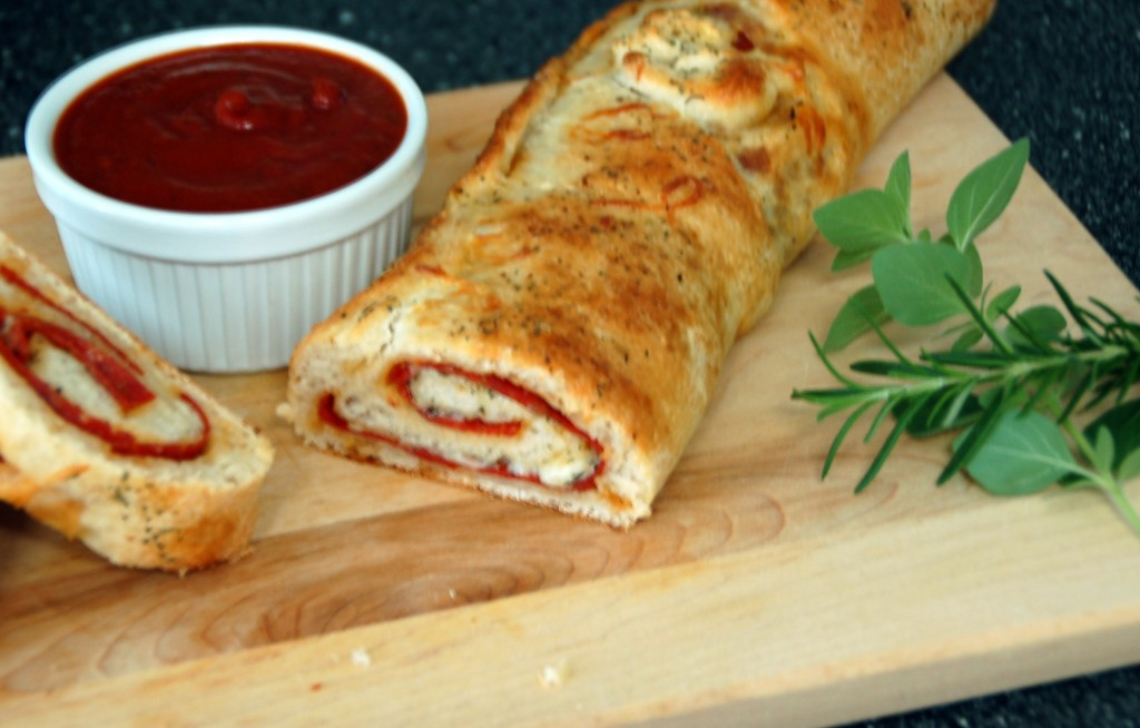 Pizza Bread Loaf from ascrumptiouslife.com