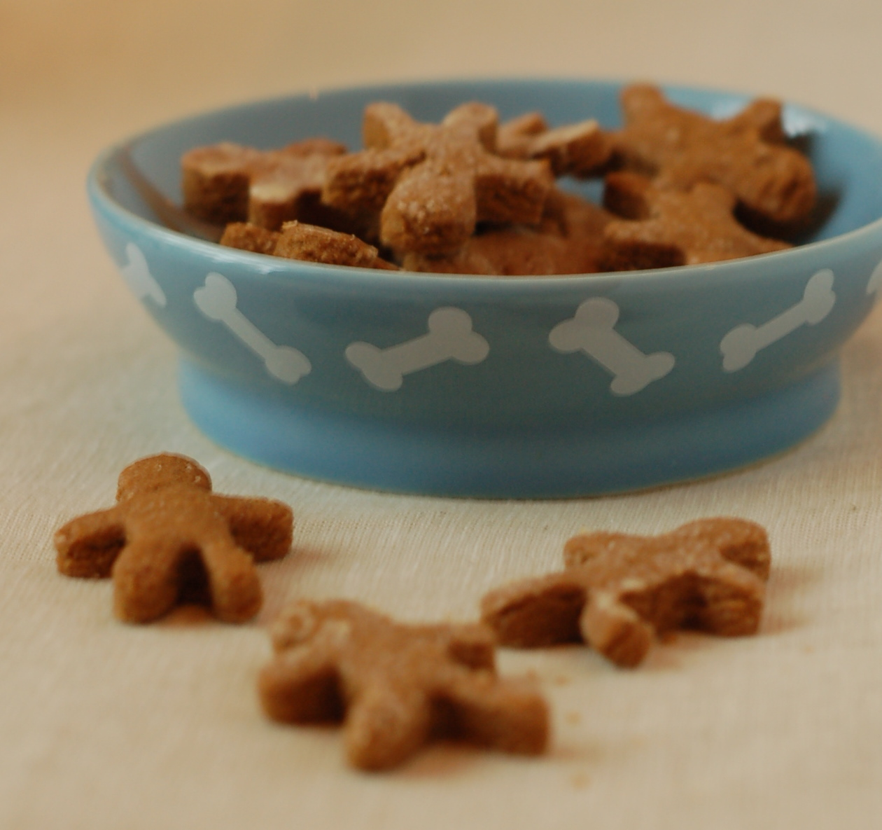 Gingerbread Doggie Treats
