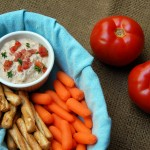 Bacn Tomato Dip from ascrumptiouslife.com