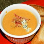 Pumpkin Gorgonzola Soup from ascrumptiouslife.com