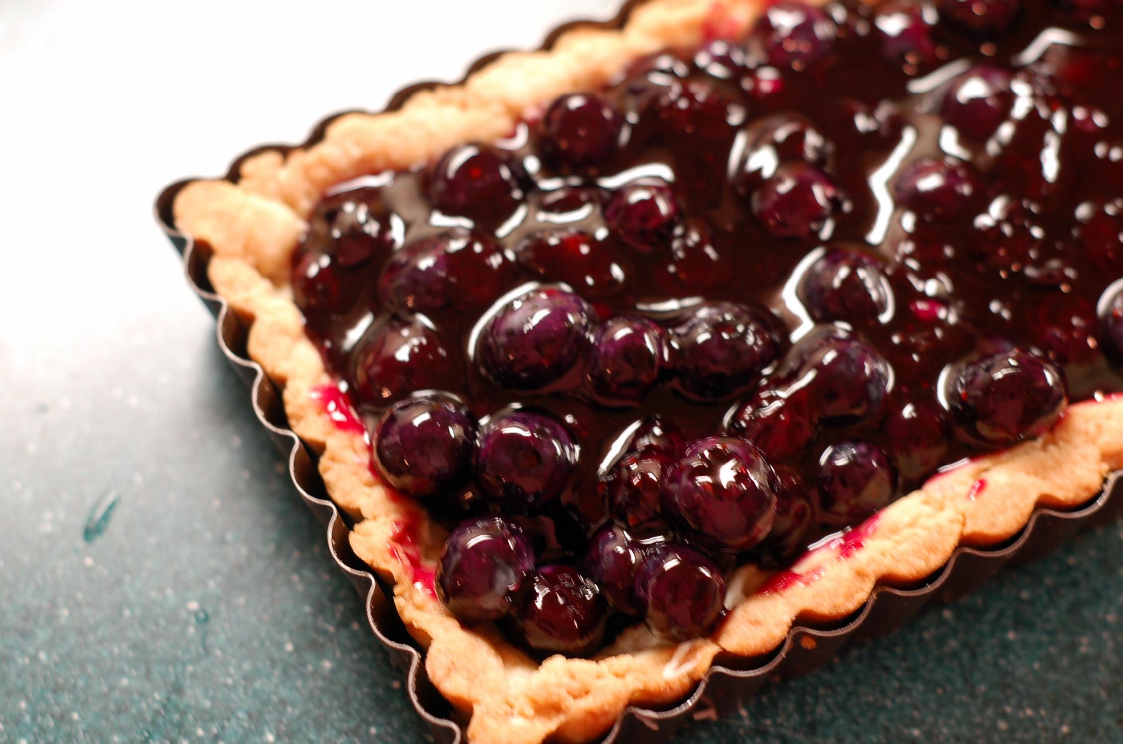 Blueberry tart 1