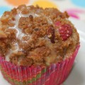 Rasberry streusal muffin