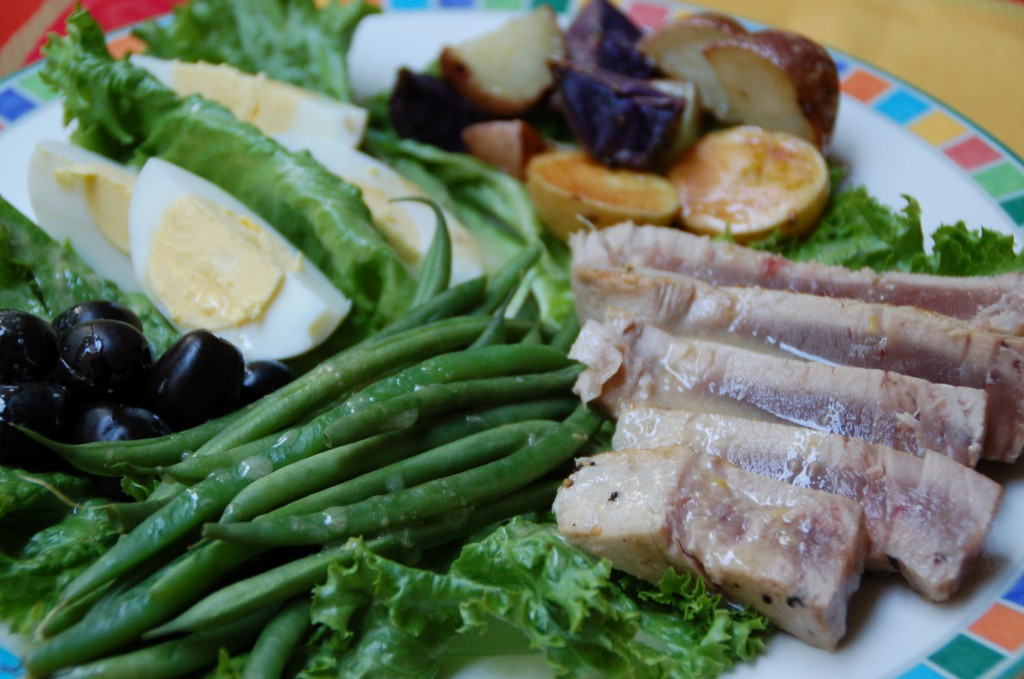 Salad Nicoise With Lemon Anchovy Vinaigrette. | A Scrumptious Life
