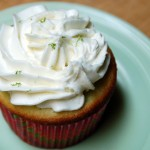 Lime cupcakes with Lime Buttercream Frosting from a scrumptiouslife.com