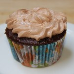 Buttermilk Chocolate Cupcake with Nutella Frosting