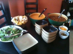 lunch soup and salad buffet