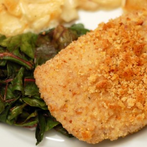 Cornbread Crusted Pork