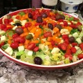 Chopped Salad from ascrumptiouslife.com