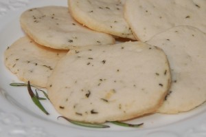 Rosemary Shortbread Cookies from ascrumptiouslife.com