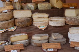 Cheese in Provence Market