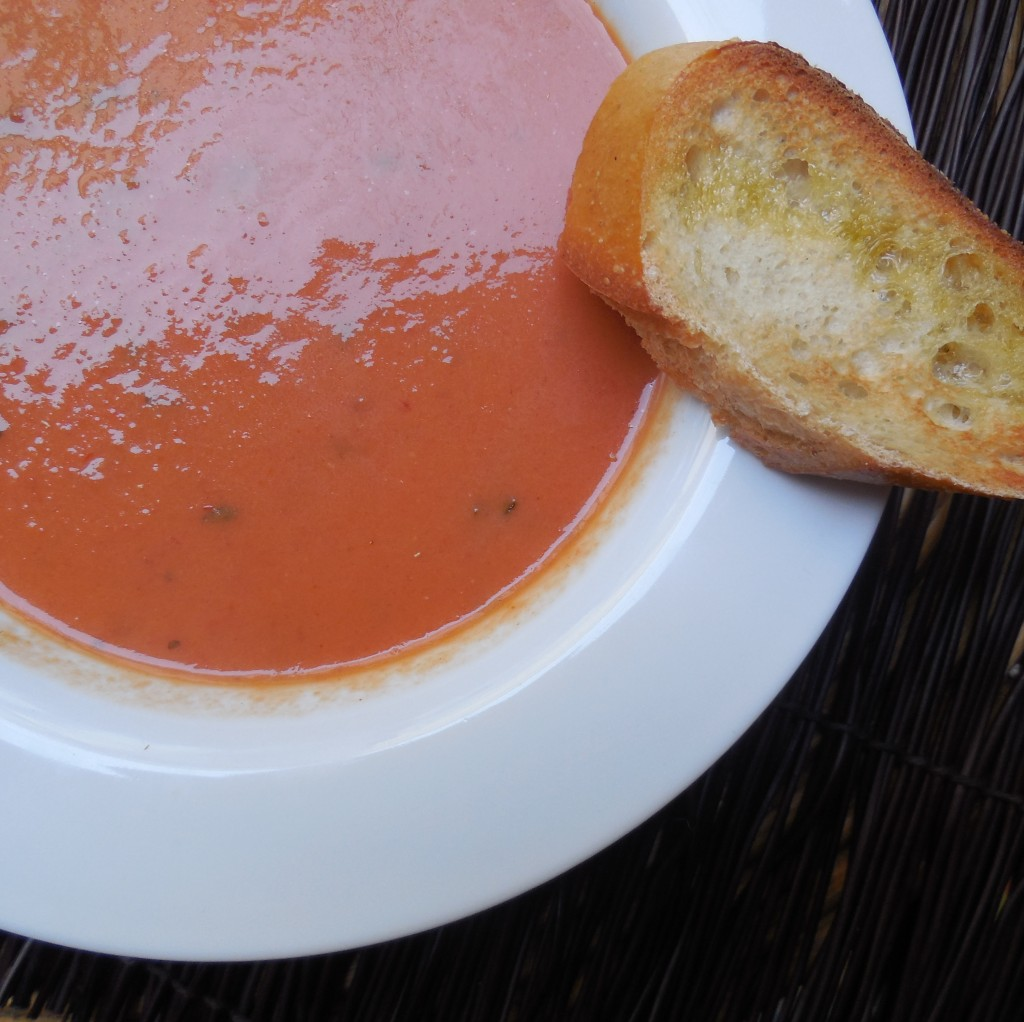 Tomato Basil Soup from ascrumptiouslife.com