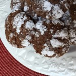 Chocolate Krinkle Cookies from ascrumptiouslife.com