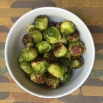 Roasted Brussels Sprouts - My new favorite way to prepare Brussels Sprouts! - from acrumptiouslife.com