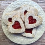 Linzer Cookies for Valentines from ascrumptiouslife.com