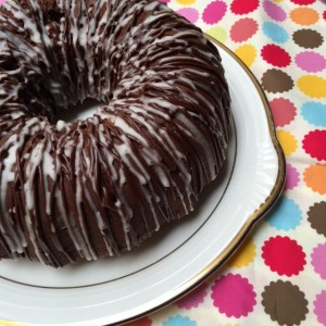 Triple Chocolate Buttermilk Pound Cake from ascrumptiouslife.com