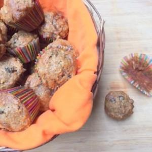 Gluten Free Carrot muffins from ascrumptiouslife.com