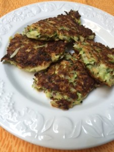 Zucchini Fritters from ascrumptiouslife.com