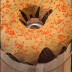 Sour Cream Pumpkin Bundt Cake with Maple Glaze