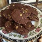Chocolate Pistachio Sables